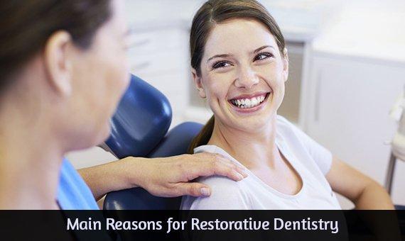 Main Reasons for Restorative Dentistry