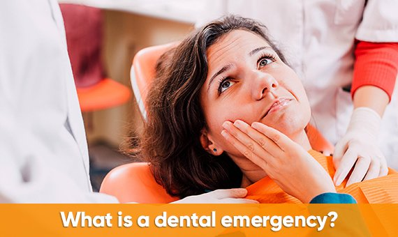 What is a dental emergency?